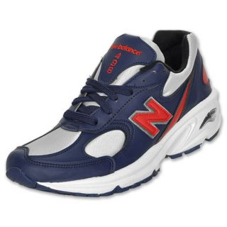 New Balance Mens 498 Running Shoe Navy/Red