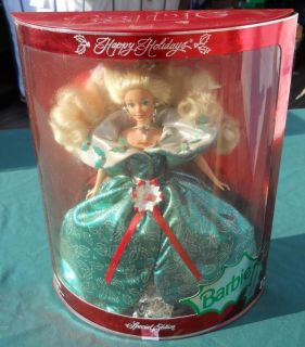 Special Edition 1995 Happy Holiday Barbie Doll Mattel Christmas x Mas