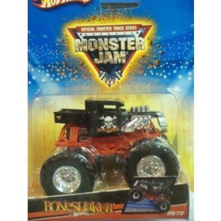 : Hot Wheels Diecast Monster Jam BoneShaker 1/55 Scale: Toys & Games