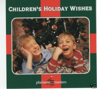 Childrens Holiday Wishes CD Christmas Music Angel