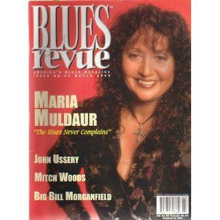 Blues Revue # 55 March, 2000   Maria Muldaur Cover! Christine M