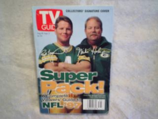 GUIDE NFL GREEN BAY PACKERS Brett Favre Mike Holmgren cover super pack