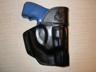 Ruger LCR Revolver Holster Shaped Leather Holster OWB Belt Holster