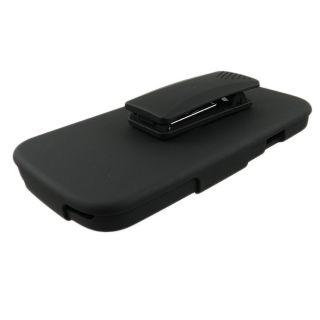 Black Hard Case Cover Belt Clip Holster Samsung Galaxy s 3 III S3