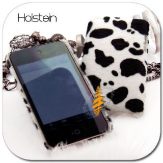 Holstein Velvet Hard Skin Case Cover Apple iPod Touch 4G 4th