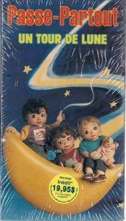 Passe Partout Un Tour De Lune VHS