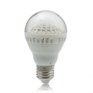 Home E27 5W 110V 60LED Warm Positive White Light Bulb Lamp Lighting