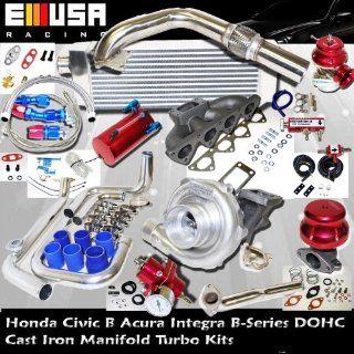 Turbo Kit B Series 88 91 HONDA CRX/Civic 94 01 ACURA INTEGRA B18 Turbo