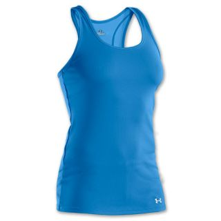 Womens Under Armour Victory Tank Pool/White