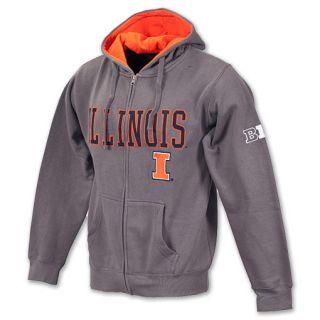 Illinois Fighting Illini NCAA Mens Full Zip Hoodie