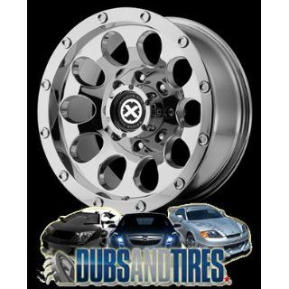 15 Inch 15x10 AMERICAN RACING ATX wheels SLOT Chrome wheels rims