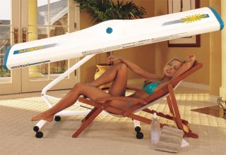 Sunquest 2000S portable tanning canopy Sun tan bed wolff lamps