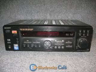 Home Theater Audio A V Control Center AM FM Radio Stereo Receiver