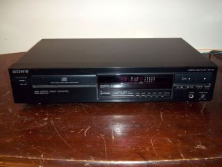 CDP 297 CD PLAYER COMPACT DISC HOME THEATER AUDIO STEREO JAPAN WORKS