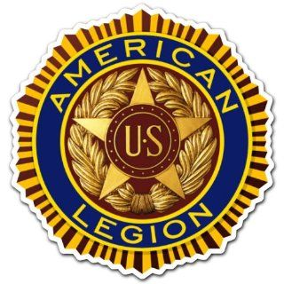 American Legion US Armed Forces Army Seal Sticker 4x4