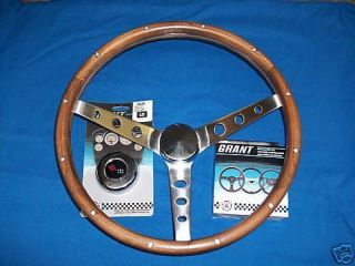 1967 Corvette Walnut Grant Steering Wheel Kit