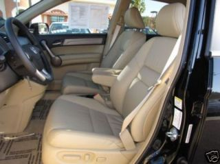 2007 2010 Honda CRV Leather Interior Seat Covers Ivory