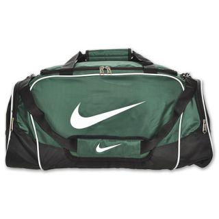 Nike Brasilia 4 Medium Duffel Bag Team Green