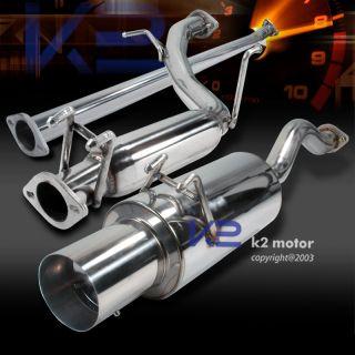 2006 2011 Honda Civic 4DR Catback Pipe Exhaust Muffler