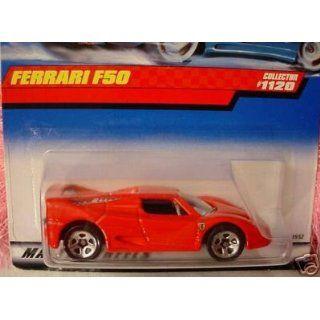 Mattel Hot Wheels 1999 164 Scale Red Ferrari F50 Die Cast