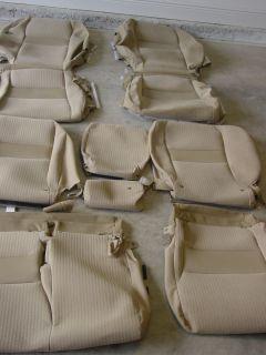 Cloth Seat Covers for 2007 09 Honda CRV EX LX 239