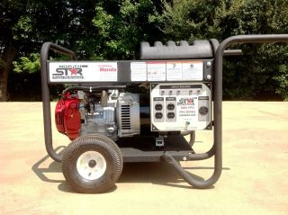 Northstar 8000 Watt Generator w 13 H P Honda Engine and Wheel Kit