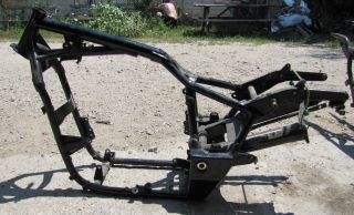 2005 Honda Shadow VT750 CA Aero Frame Chassis with Swingarm
