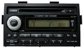 Honda Ridgeline XM Satellite Radio Stereo 6 Disc Changer CD Player