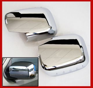 06 10 Honda Ridgeline Pickup Truck Chrome Door Rear View Mirror Covers