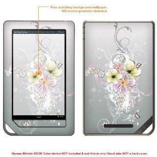 Protective Decal Skin Sticker for Barnes Noble NOOK COLOR