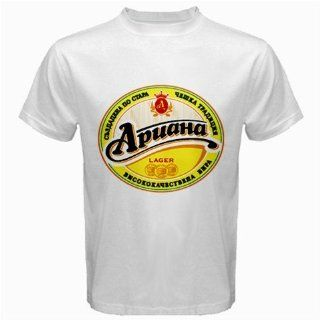 Ariana Beer Logo New White T shirt Size 2XL: Everything
