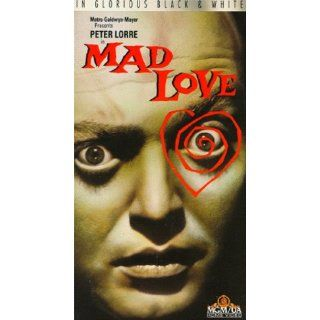 Mad Love [VHS] Peter Lorre, Frances Drake, Colin Clive