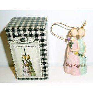 Polyresin Best Friends Ornament Figurine Case Pack 72
