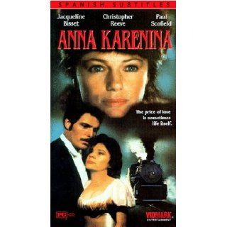 Anna Karenina [VHS]: Jacqueline Bisset, Christopher Reeve