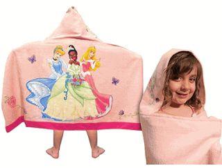 Disney Princess Hooded Towel