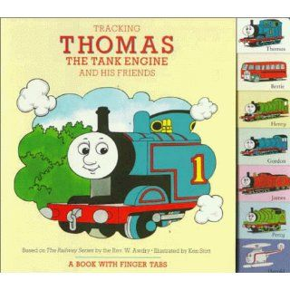 Tracking Thomas the Tank Engine and His Friends A Book with Finger