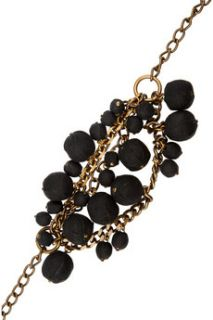 Marni Covered bead chain and ribbon necklaces