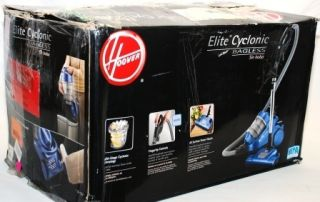 Hoover S3825 Elite Cyclonic Bagless Canister Vacuum with Power Nozzle