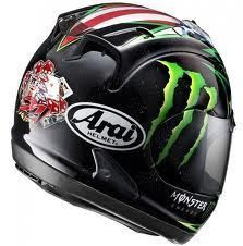 Arai Corsair V John Hopkins Replica helmet large 09 0976 RARE Monster