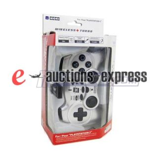 Hori Pad 3 Turbo Wireless Controller for PS3 Silver