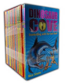 Dinosaur Cove Series Collection 23 Books Set 1 to 23 Pack New PB