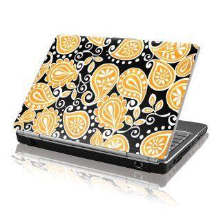 Skinit Black & Yellow Paisley Vinyl Laptop Skin for Dell