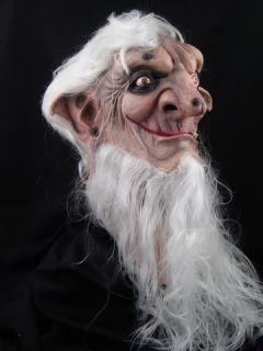 Necromancer Halloween Horror Latex Mask Prop New