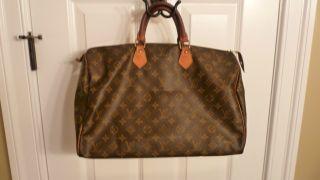Authentic Louis Vuitton Speedy 40 Great Large Bag