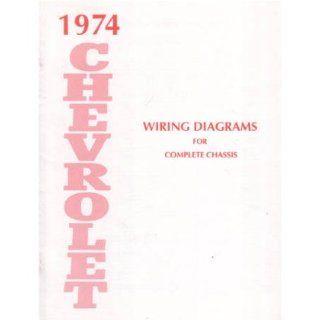 1974 CHEVROLET BELAIRE CAMARO IMPALA Wiring Diagrams