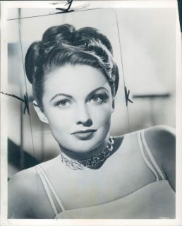 1952 Famous Woman Actress Joan Leslie Orig Press Photo