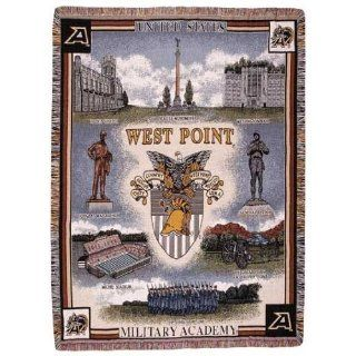 United States Military Academy West Point Tapestry Throw