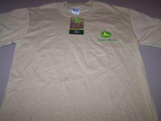 John Deere Loggers T Shirt Size Small