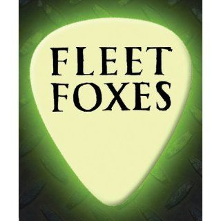 Fleet Foxes 5 X Glow In The Dark Premium Guitar Picks