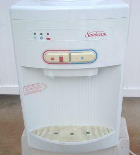 Counter Top Sunbeam Hot Cold Water Dispenser Cooler